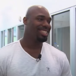 Dallas Cowboy OL Tyron Smith Promotes Adoption at Dallas Animal Services